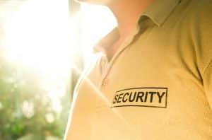 Security Guard at Door